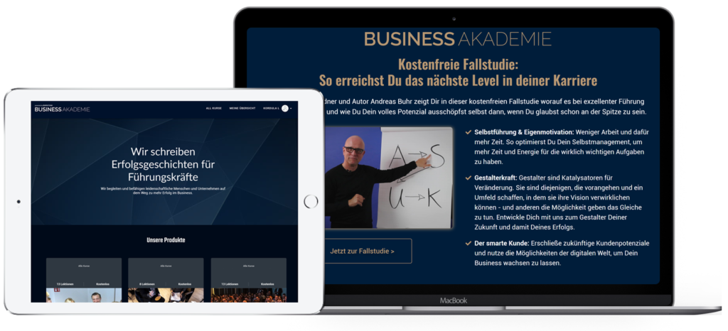BusinessAKADEMIE - Header